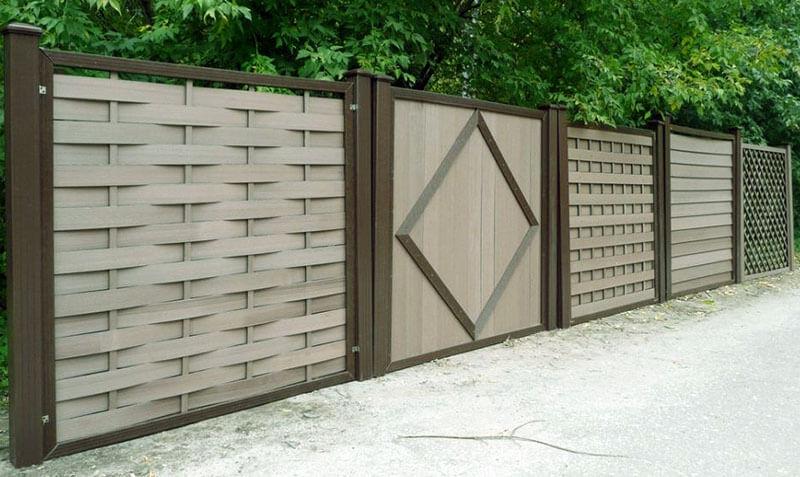 Забор из композита