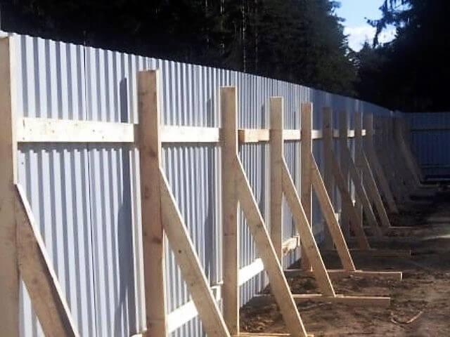Заградительный забор